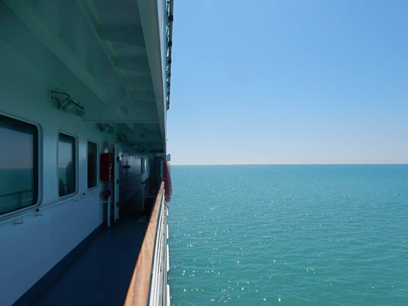 Caspian Sea Ferry