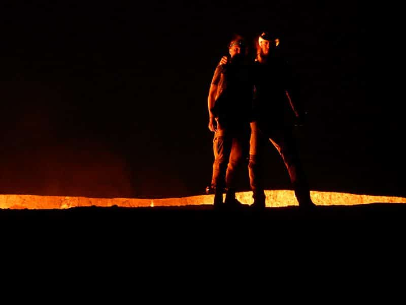 At the door to hell, Turkmenistan