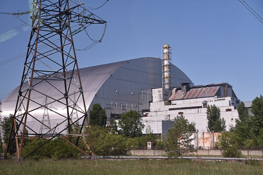 Reactor 4, Chernobyl