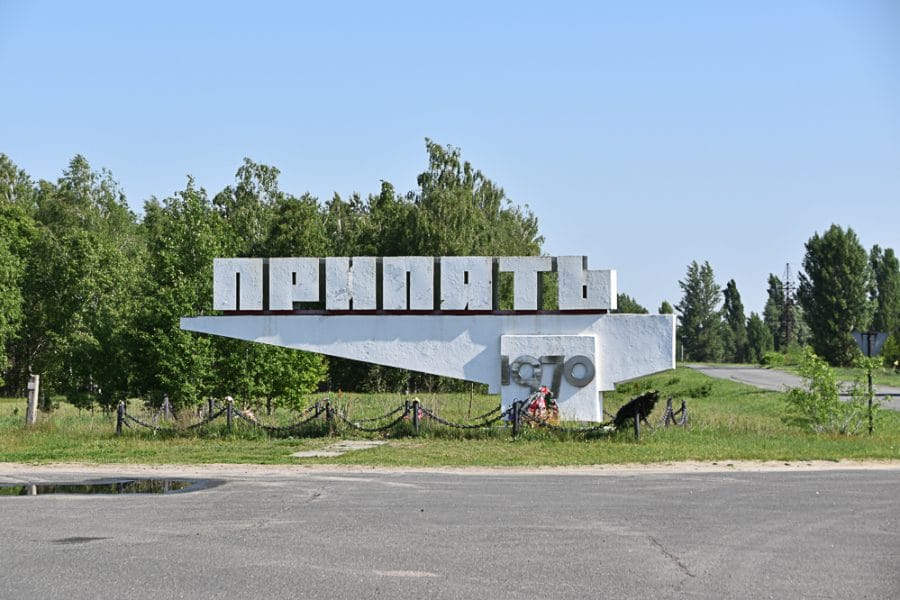 Pyripyat Sign