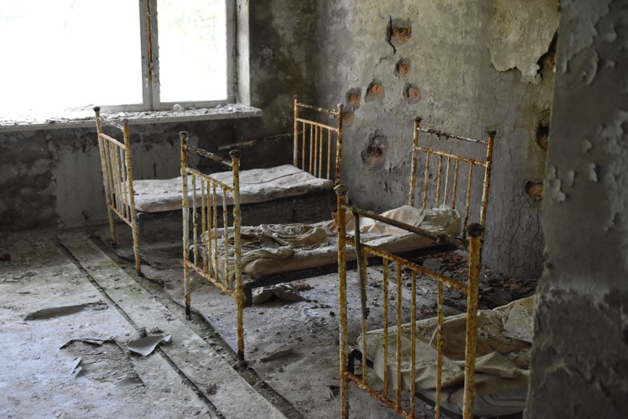 Rusting Hospital Beds