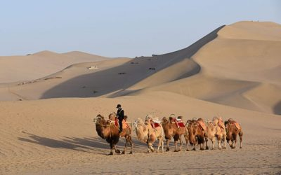 The Silk Road & How to get from England to China