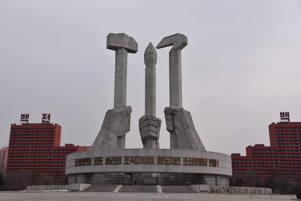 Monument to the Party Foundation, Pyongyang