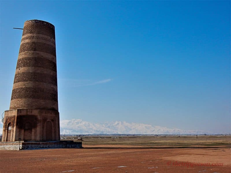 The Burana Tower, Kyrgyzstan