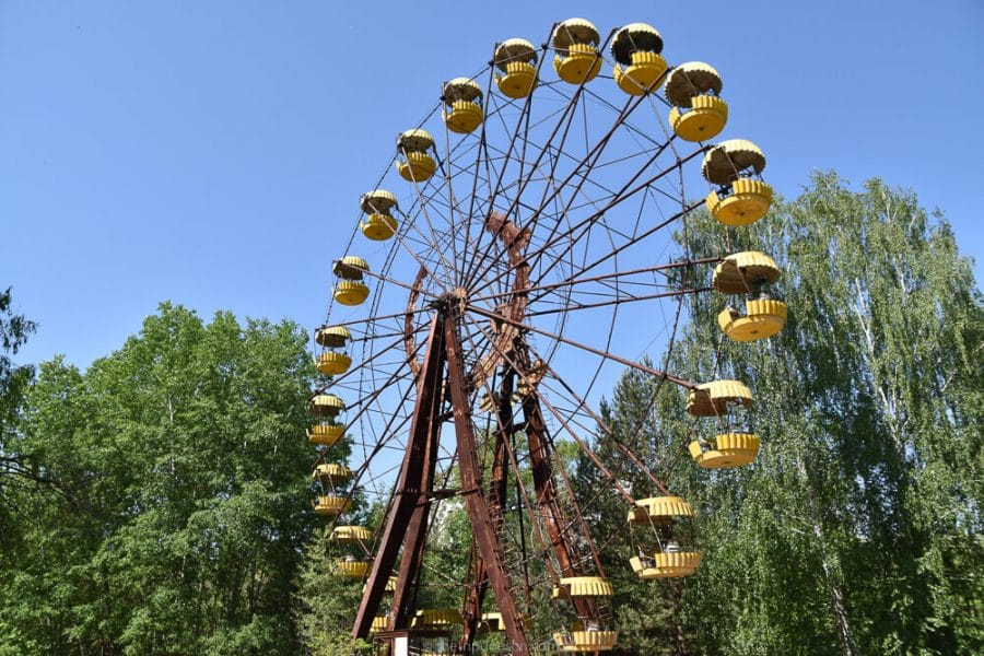 What's it like to visit Chernobyl?