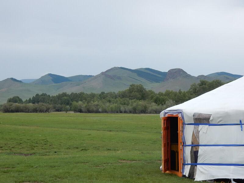 Beijing to Ulaanbaatar, a Yurt in Mongolia