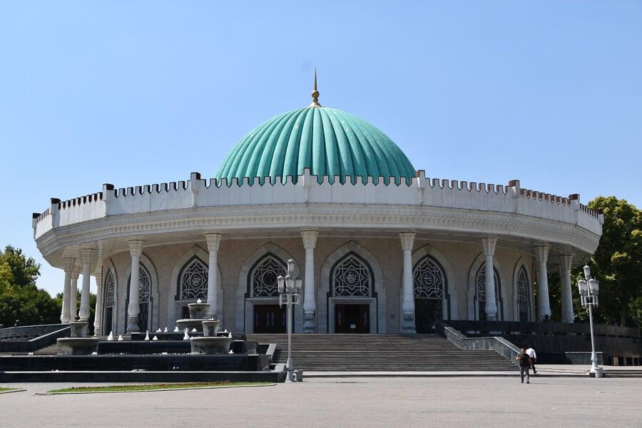 Timur Museum, Tashkent, Uzbekistan