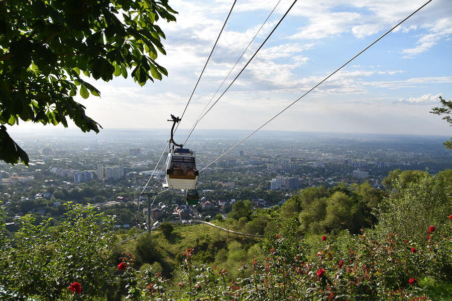 Cable Car, Almaty