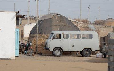 Yerbent Desert Village, Turkmenistan