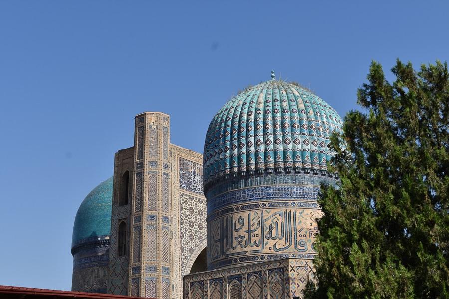 Bibi Khanym Mosque, Samarkan, Uzbekistan