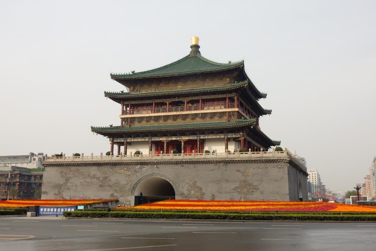 Bell Tower, Xian